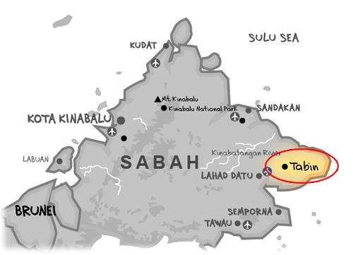tabinwildliferesort_lahaddatu_map